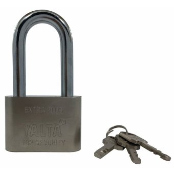 Yalta Extra-Large Stainless Steel Heavy Duty Lock 60mm (Extra-Long Shackle) Price Philippines