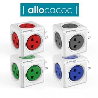 Harga Allocacoc PowerCube Original PH 4180 BLUE 5 Universal Outlet Power Adapter