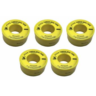 "Meisons Teflon tape 1"" high grade (5pcs) Price Philippines"