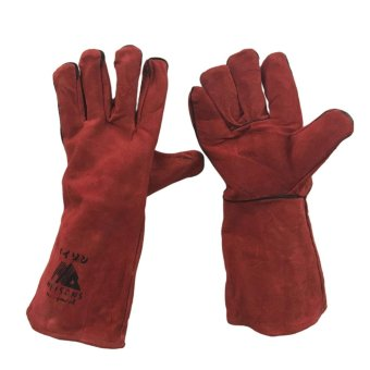 "Meisons leather welding gloves 16"" class AB premium quality Price Philippines"