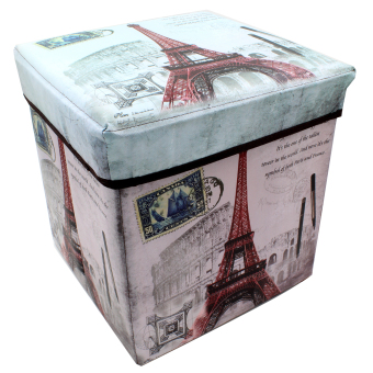 Wallmark Ottoman Storage Box Chairs Eiffel Tower Price Philippines