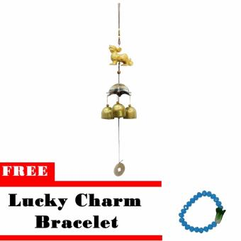 Lucky Charm Hanging Decorative Pi Yao Wind Chime w/ Free Lucky Charm Bracelet Price Philippines