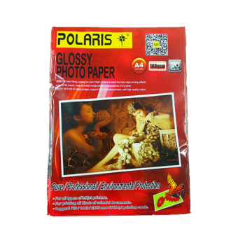 Harga Polaris Glossy Photo paper A4 180GSM