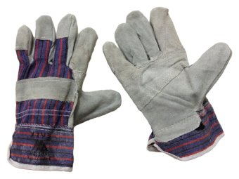 Meisons working gloves cow split leather palm Price Philippines