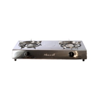 Harga Dowell SDB-10 Double Burner Gas Stove (Silver)