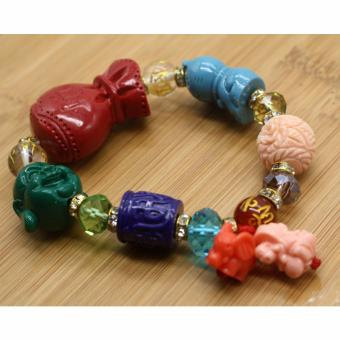 Harga Feng Shui All in One with Red Money Bag Bracelet