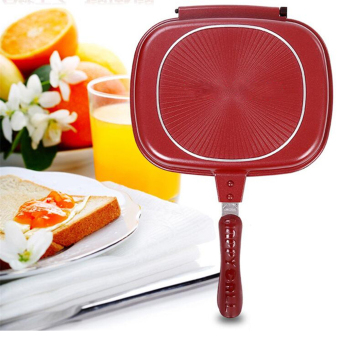 GMY Happy Cou Double Grill Pan 30cm (Red) Price Philippines