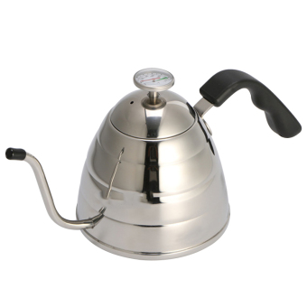 Fashion Design Stainless Steel Tea and Coffee Pot Coffee Maker Spout Drip Kettle Hot Water for Barista - intl Price Philippines