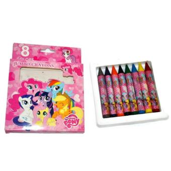 My Little Pony Non-toxic 8 Colors Jumbo Crayons School Supplies for Girls Price Philippines