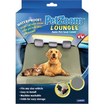Harga Petzoom Loungee Auto Pet Seat Cover