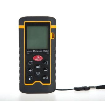 Harga Laser Distance Meter Rangefinder,HT-40 Distance Meters,Digital Range Finder Measure Area Volume Tool - intl
