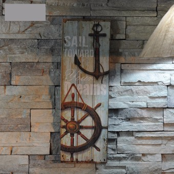 Nautical Decor Rustic Wood Sign Plaque Wall Art Picture Lighthouse Design Anchor Price Philippines