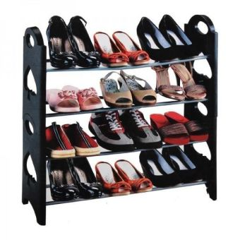 Shoe Rack NSR58-4A (Black) Price Philippines