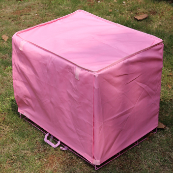 "Pet Dog Crate Cage Kennel COVER Pink 29"" Length Size L Price Philippines"