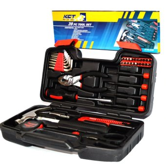 Harga KCT KTK039 Tool 39-piece Set (Black)