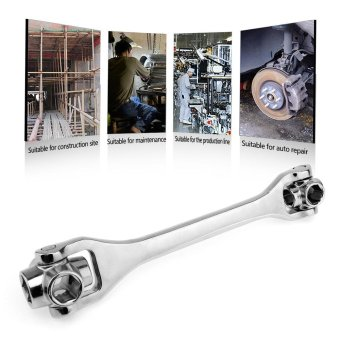 Harga Household Socket Wrench 8/10/12/13/14/17/19/21 8 In 1 Spanner Key Multi Tool Hand Tools Herramientas Ferramentas - intl