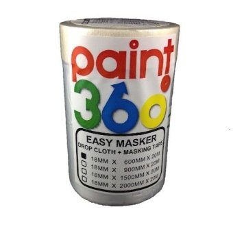 PAINT360 Easy Masker Tape with Dropcloth 600mm Price Philippines