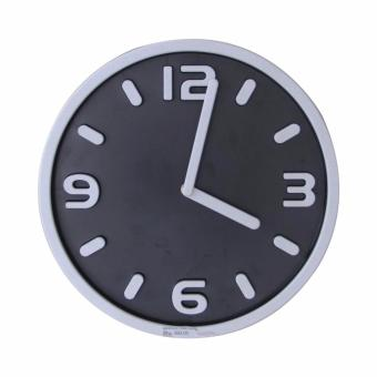 Harga Mandaue Foam EG3015 Black Wall Clock