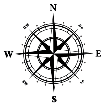 Hequ Compass Wall Decal Nautical Wall Sticker Removable Home Decors For Wall Decals Bedroom Wall Stickers Price Philippines
