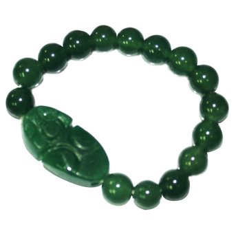 Feng Shui Money Catching Lucky Charm Bracelet (Dark Green) Price Philippines