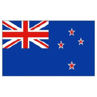 Harga New Zealand National Flag 5ft x 3ft - Intl