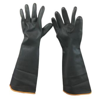 "Meisons industrial gloves acid and chemical resistant 18"" heavy duty Price Philippines"