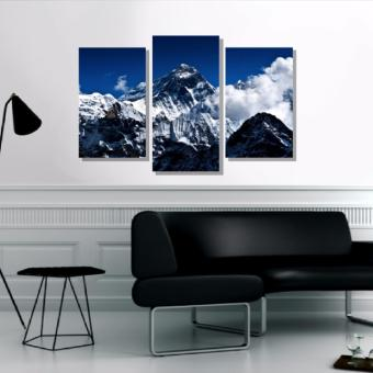 Harga Easy Art Triptych 3-piece Mt. Everest Premium Canvas Art