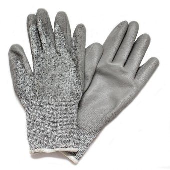 Harga Spiderking ARMOR Cut Resistant Safety Gloves (Silver)