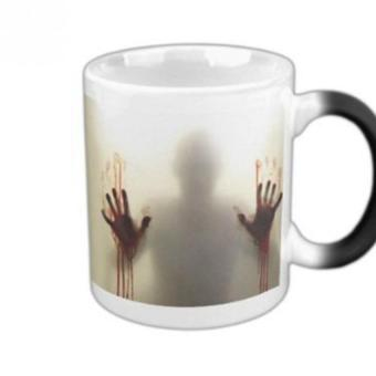 The Walking Dead Zombies Ceramics Heat Sensitive Color Changing Coffee Tea Mug Price Philippines