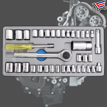 Aiwa Combination Socket Wrench Set 40-Piece (Big) Price Philippines