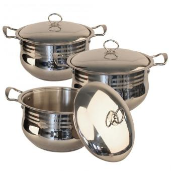 Phoenix Eleranbe 4pcs. High Quality Stainless Steel Pan Set Price Philippines