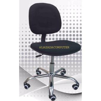 Harga PCR Clerical Computer Chair. Adjustable. Gas Lift. Metal Base. Armless