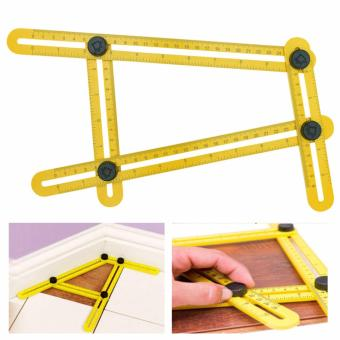 Harga Angle-izer Template Tool Four-sided Measuring Instrument (Yellow)