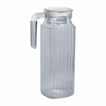 Harga Mandaue Foam GB1102H Clear Glass Jug with Lid – 35oz