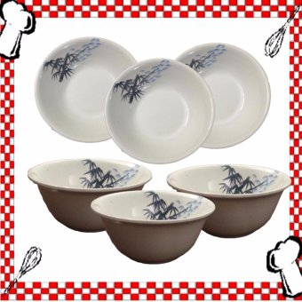 HB Design Asian Simple Soup Bowl Set of 6's Price Philippines