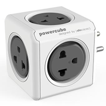 Harga Allocacoc PowerCube Originals Power Outlet Extension PH Grey