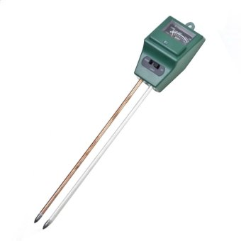 Harga New 3 in1 Flowers Plant Soil PH Tester Light Water PH Tester (Green) - intl