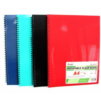 Harga Clear Book Display Book Rotatable 8.27x11.69 inches