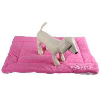 Dog Crate Mat Kennel Cage Pad Bed size S (pink) Price Philippines