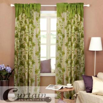 Curtain Essentials Daffodil Green Set of 2 Price Philippines