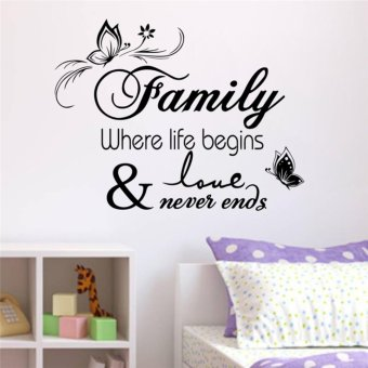 Harga Famiy Where Life Begins and Love Never Ends
