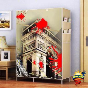 Harga DD-8802Q 3D Panoramic Wardrobe (The Arc)