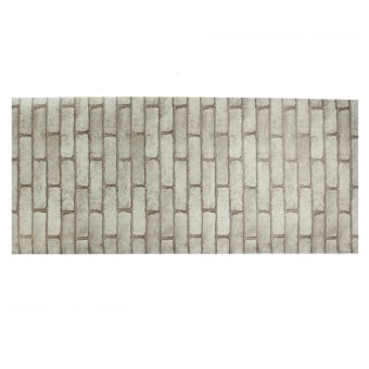 Rustic Brick Effect Rock Stone Textured Wall Sticker Paper Grey Price Philippines