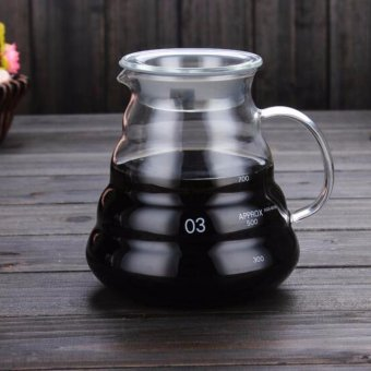 800ml Coffee Server, Standard Glass Coffee Carafe, Coffee Pot - intl Price Philippines