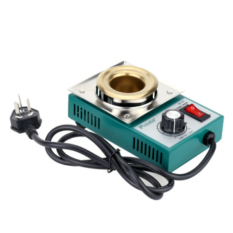 ProsKit 220-550°Titanium Plating Stainless Steel Solder Pot Temperature Adjustable Molten Tin Crucible Furnace Welding Repair Tool Price Philippines