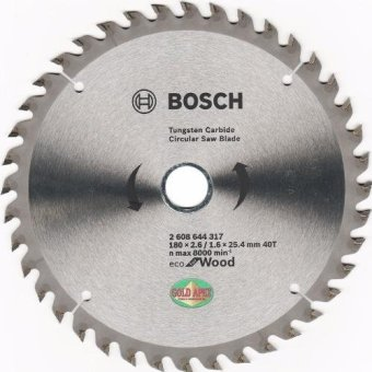 "Bosch ECO Circular Saw Blade 7""x40T Price Philippines"