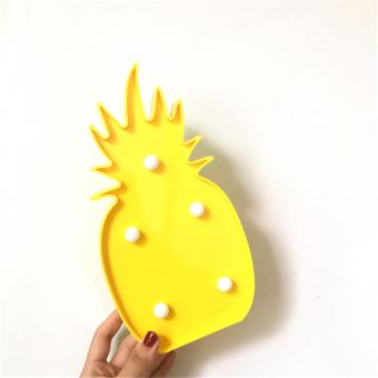 Harga Pineapple LED Lamp (Yellow)