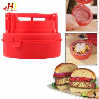 Harga STUFZ Stuffed Burger Press Hamburger Grill BBQ Patty Maker Juicy
