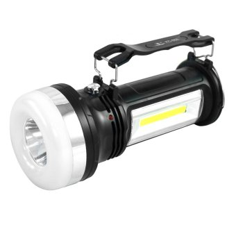 Harga New version Rechargeable Emergency Lighting (Black)