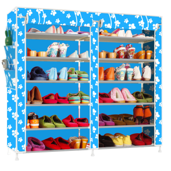 Fashion Shoe Rack (Blue) Price Philippines